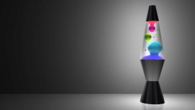 Blobba Lamp Clear 3D Wallpaper Widescreen