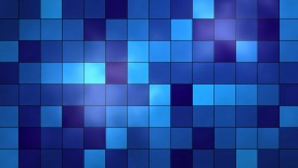 Blue Tiles Iphone Panoramic Wallpaper