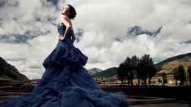 Blue Wedding Dresses 2014