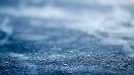 Blue Wet Surface Mac Wallpaper
