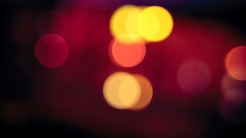 Blurred Car Lights Iphone Panoramic Wallpaper