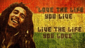 Bob Marley Quotes In Fabric High Definition Wallpapers For Desktop