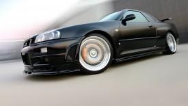 Cars Black Power Desktop