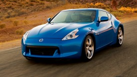 Cars Blue Nissan Road Desktop