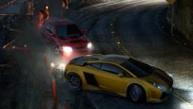 Cars Drift Night Speed Widescreen Photo Desktop