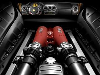 Cars Ferrari Motor Desktop