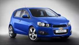 Chevrolet Aveo  Paris Auto Show Wide Desktop