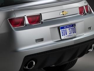 Chevrolet Camaro Ss Rear Section Wide Desktop