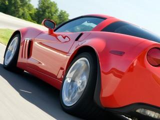 Chevrolet Corvette Side Wide Desktop