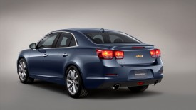 Chevrolet Malibu Rear Angle Wide Desktop