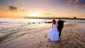 Cinematic Beach Wedding