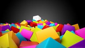 Cool D Colorful Cubes