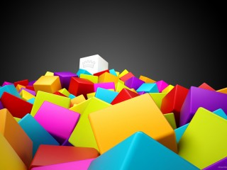 Cool D Colorful Cubes