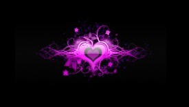 Cool Pink Heart Love Abstract Desktop