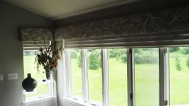 Cornice Boards Large Windows Wallpaper