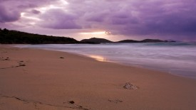 Empty Beach At Dusk Hd Beach Wallpapers 1080p HD Pic