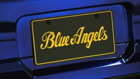 Ford Mustang Gt Blue Angels Badge Wide Desktop