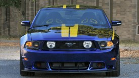 Ford Mustang Gt Blue Angels Front Wide Desktop