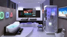 Futuristic Luxury Modern Bathroom Remodel Design