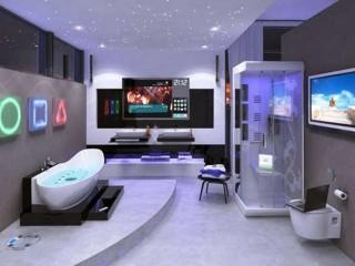 Futuristic Luxury Modern Bathroom Remodel Design
