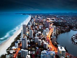 Golden City Coast Hd 1080p Wallpapers Download HD Pic