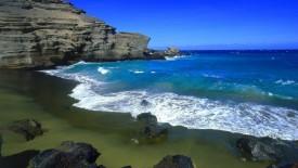 Green Beach Big Island HD Pic