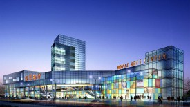 HD 3D Architecture Mall Image