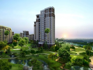 HD 3D Architecture Tall Building