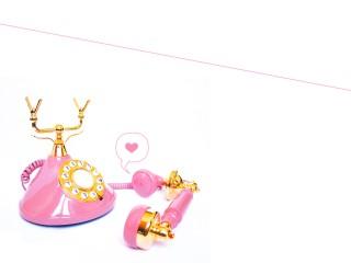Hello Love Pink Phone Desktop