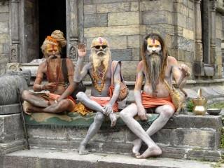India Sadhu Sadhus Temple Funny 1024×776