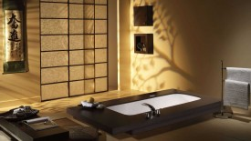 Japanese Bathroom Style Wallpapers