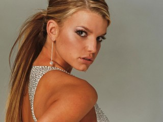Jessica Simpson Hot Babe Tv Personality Desktop