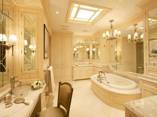 Luxury Master Bathroom Remodel Design Idea