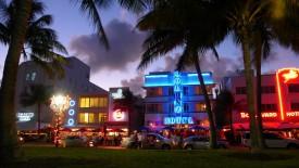 Miami South Beach Florida At Night HD Wallpaper HD Pic