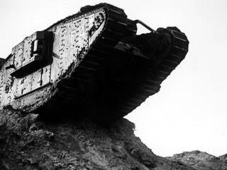 Military History Tanks World War Mark Iv