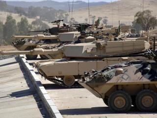 M1A1 Abrams Tank Capability Demonstration