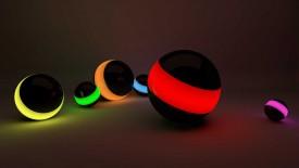 Mini Beautifull Ball 3D Wallpaper Widescreen