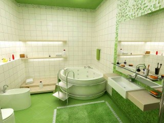 Nature Bathroom Remodelling Design Ideas