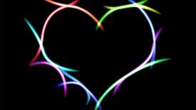 Neon Heart Deskto