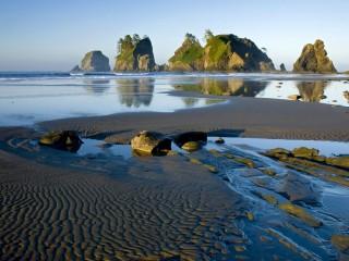 Ocean At Dusk Hd Beach Wallpapers 1080p HD Pic