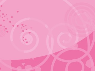 Pink Hearts Abstract Lines Curves Love Desktop