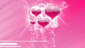 Reason Love Hearts Pink Desktop