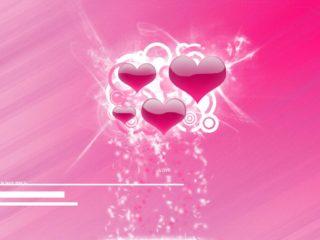Reason Love Hearts Pink Desktop