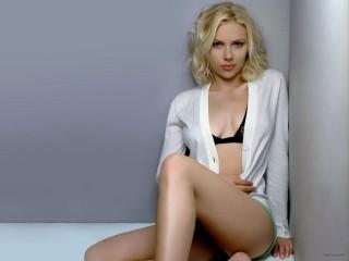 Scarlett Johansson Actress Model Singer Movie Star Blonde Desktop