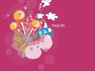 Sweet Life Peace Love Desktop