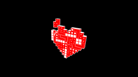 Tetris Heart Heartris Heartrisand Nowsome Nerd Love Desktop
