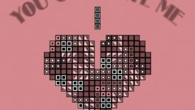 Tetris Love You Complete Me Big Heart Bricks Desktop