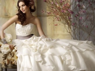 White Wedding Dresses 2014 Background HD Wallpaper