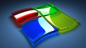 Windows 7 Logo 3D HD Wallpaper Widescreen