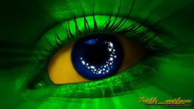 Brazil Eye Wallpaper HD